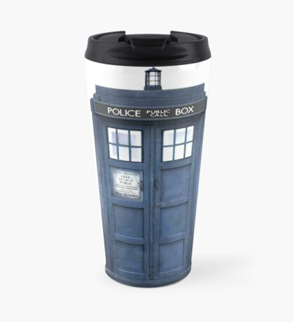 Tardis Blue - The Police Box Travel Mug