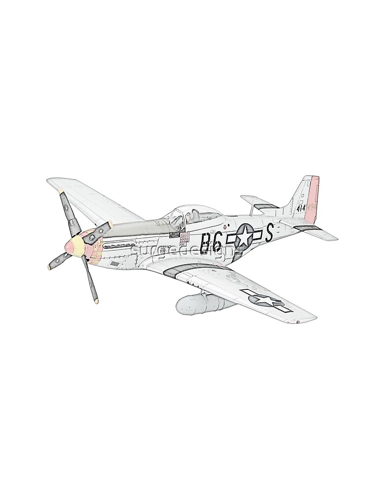 North American Aviation P-51 Mustang by surgedesigns