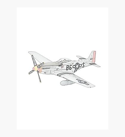 North American Aviation P-51 Mustang Photographic Print