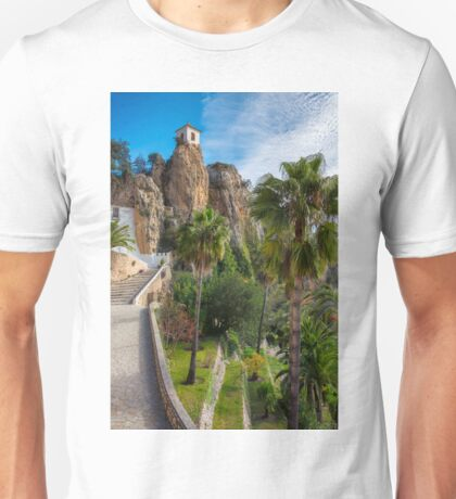 The path to Guadalest  Unisex T-Shirt