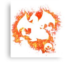 Charizard Spirit Canvas Print