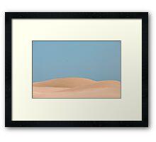 Dune body Framed Print