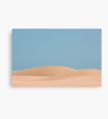 Dune body Canvas Print