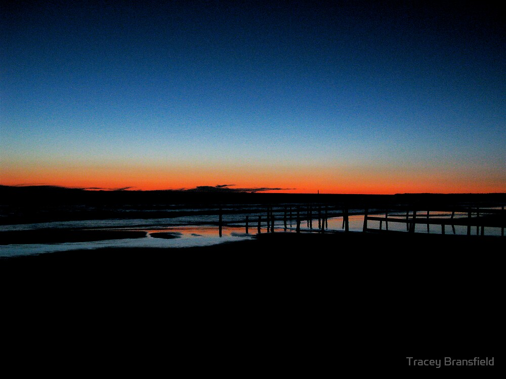 Sauble beach at night by Tracey Bransfield