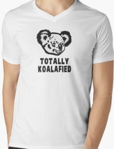 Totally Koalafied Koala Mens V-Neck T-Shirt