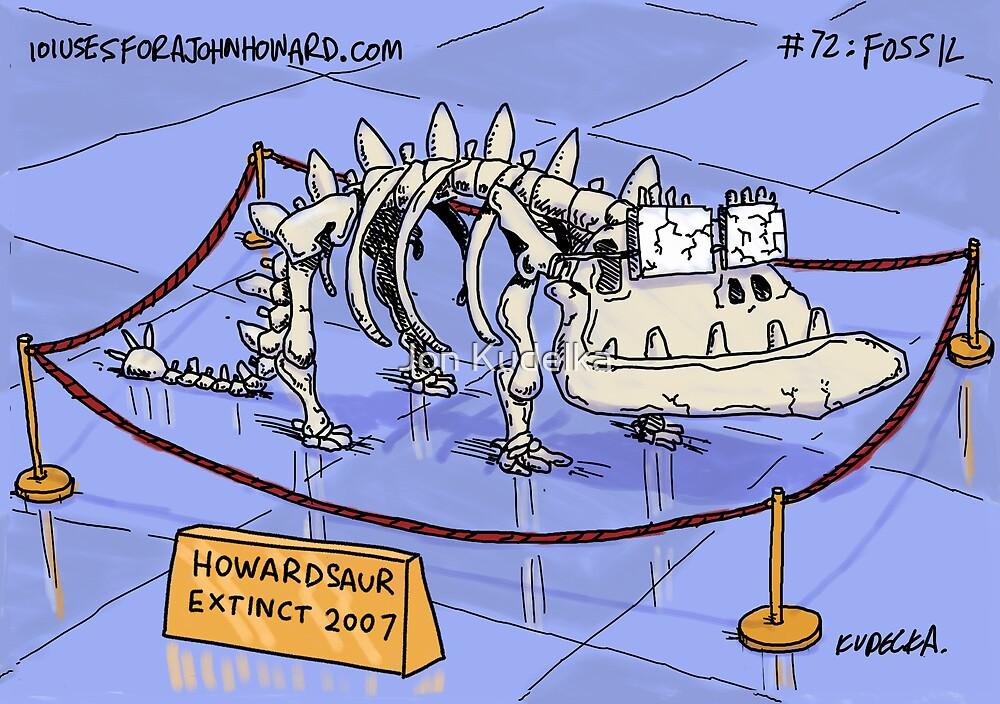 The Howardsaurus by Jon Kudelka