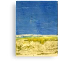 Landscape Monotype Canvas Print