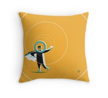 Super O (m) Throw Pillow