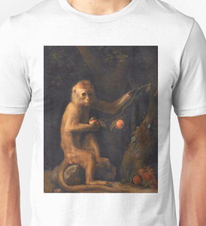 George Stubbs - A Monkey (1799) Unisex T-Shirt