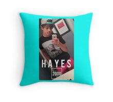 HAYES 2000 Throw Pillow
