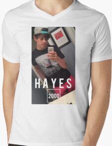 HAYES 2000 Mens V-Neck T-Shirt