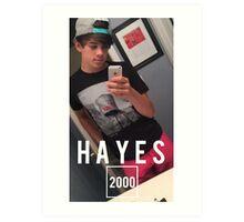 HAYES 2000 Art Print