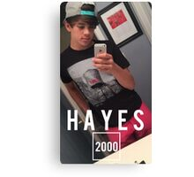 HAYES 2000 Canvas Print