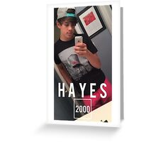 HAYES 2000 Greeting Card