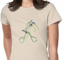 Eyelash Curler Womens Fitted T-Shirt