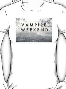 Vampire Weekend Poster T-Shirt