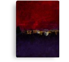 Purple magenta No 54 Canvas Print