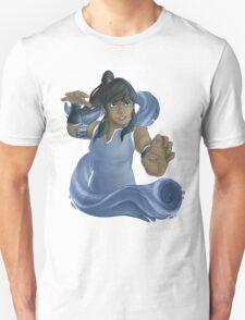 Korra Waterbends Unisex T-Shirt