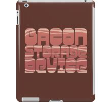 Bacon Storage Device iPad Case/Skin