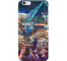 Rodeo time! Roma's Easter in the country series iPhone Case/Skin