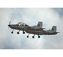 A Pair Of Plastic Parrots - ex-RAAF CT4 Airtrainers Photographic Print