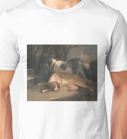 George Morland - Setters Between 1798 And 1799 Unisex T-Shirt