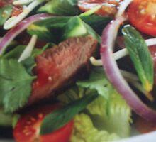 Salad by caffine