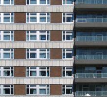 Urban Apartments building - condominium  Sticker