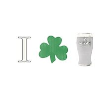 I (shamrock) Guinness by surgedesigns