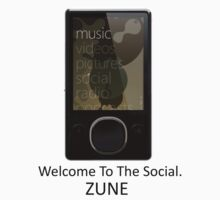 Zune Tee (White) by rtronic