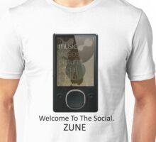 Zune Tee (White) Unisex T-Shirt