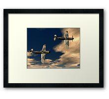 Me109g's Framed Print