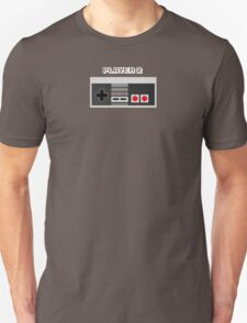 Retro Gamer Design Player 2 T-Shirt