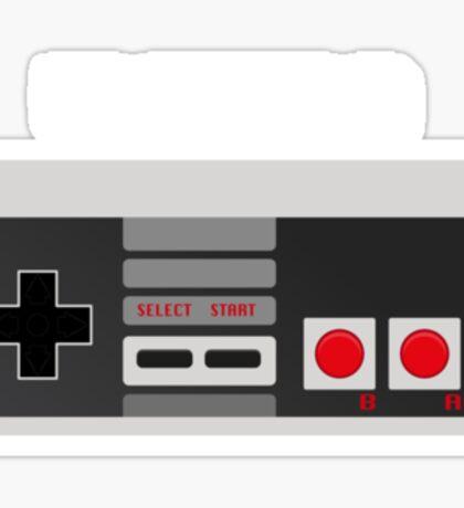 Retro Gamer Design Player 2 Sticker