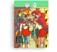 Happy Valentines Dashie - MLP Canvas Print