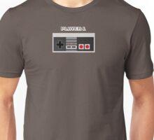 Retro Gamer Design Player 1 Unisex T-Shirt
