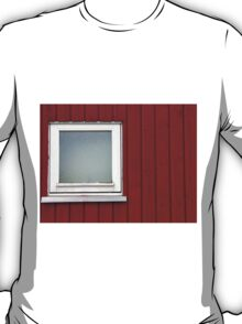 Architecture abstract - wall and window T-Shirt