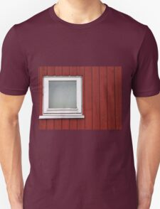 Architecture abstract - wall and window Unisex T-Shirt