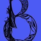Alpha Series B.1 -  Blue Asia Celtic Native twist by Hiroko