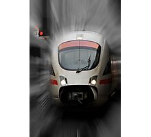 STOP - Back to the Future Photographic Print