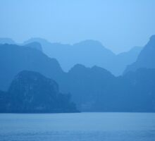 Halong Bay Mountains by LaurieT