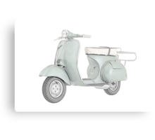 1959 Piaggio Vespa scooter Canvas Print