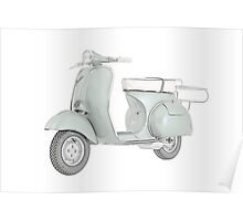1959 Piaggio Vespa scooter Poster