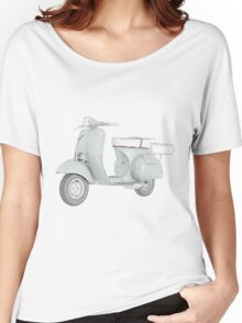 1959 Piaggio Vespa scooter Women's Relaxed Fit T-Shirt
