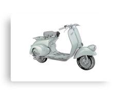 1949 Piaggio Vespa scooter Canvas Print