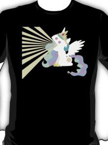 Princess Celestia Sunray Vomit T-Shirt