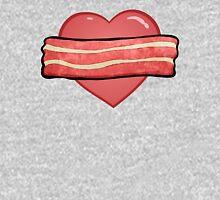 I love bacon. Unisex T-Shirt