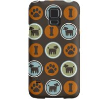 Black Poodle Samsung Galaxy Case/Skin