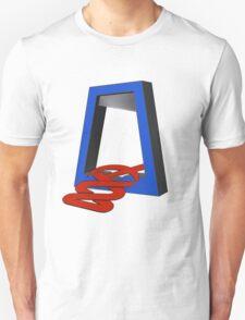 Red ABC Cutbacks T-Shirt
