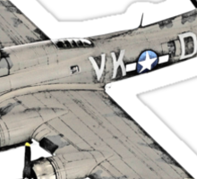 Boeing B-17 Flying Fortress Sticker